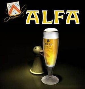 Alfa Brewery - Image: Alfasplash 2
