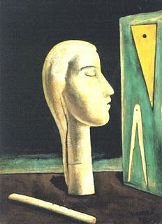 <i>The Engineers Lover</i> painting by Carlo Carrà