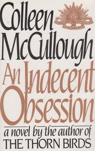 An Indecent Obsession - First edition (publ. Harper & Row)