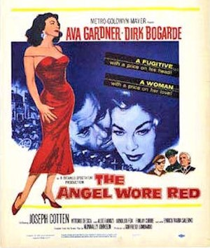 The Angel Wore Red - Theatrical release poster