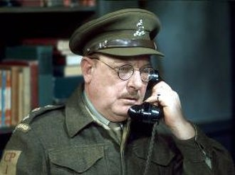 Arthur Lowe - Lowe as Captain Mainwaring in Dad's Army