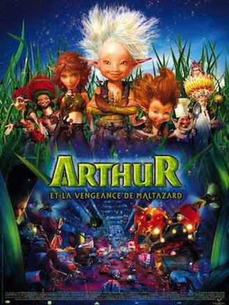 Arthur and the Revenge of Maltazard - Theatrical release poster