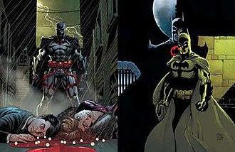 Thomas Wayne - Image: Batman Flashpoint Thomas Wayne Covers