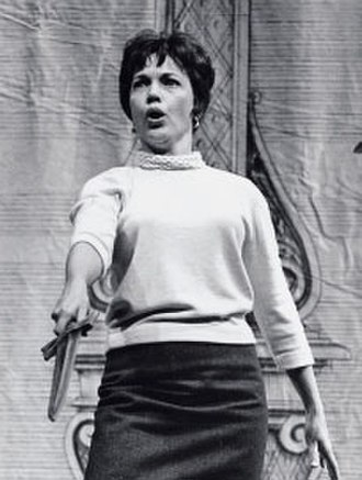 Beverly Wolff - Beverly Wolff rehearsing the role of Sesto for the NYCO's 1966 production of Handel's Giulio Cesare.