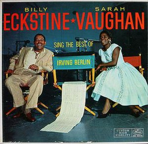 Sarah Vaughan and Billy Eckstine Sing the Best of Irving Berlin - Image: Billsass
