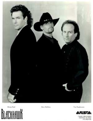 Blackhawk (band) - Original lineup of Blackhawk (Henry Paul, Dave Robbins, Van Stephenson)
