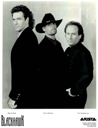 Blackhawk (band) - Original lineup of Blackhawk (Henry Paul, Dave Robbins, Van Stephenson)