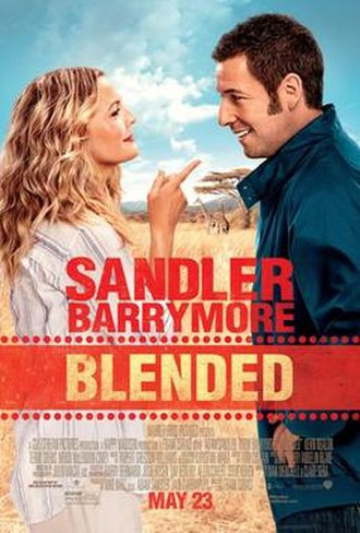 Blended (film) - Theatrical release poster