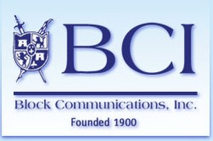 Block Communications - Logo of Block/Blade Communications