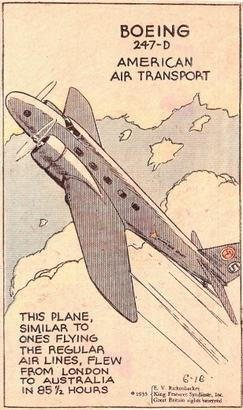 Boeing 247 ad