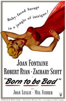 Born to Be Bad (1950) cinema poster.jpg