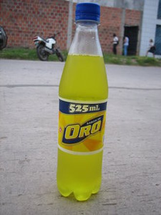 Oro (beverage) - Image: Brand Oro Bottle 525 ml