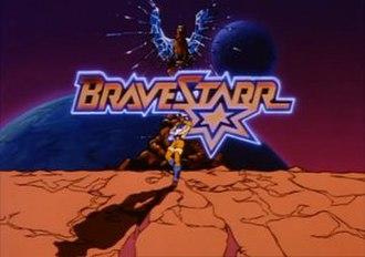 BraveStarr - BraveStarr title card