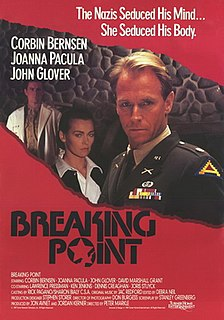 <i>Breaking Point</i> (1989 film) 1989 film by Peter Markle