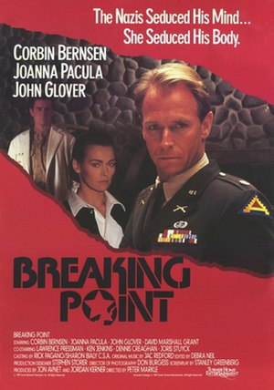 Breaking Point (1989 film) - Image: Breaking point movie poster 1989