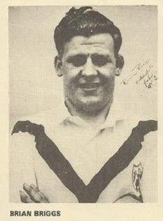 Brian Briggs GB & England international rugby league footballer