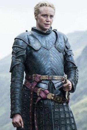 Brienne of Tarth - Gwendoline Christie as Brienne of Tarth