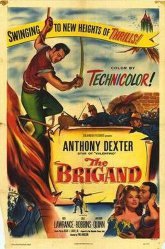 The Brigand (film) - Original film poster