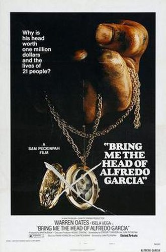 Bring Me the Head of Alfredo Garcia - Theatrical release poster