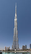The Burj Khalifa in 2012