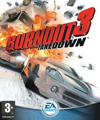 Burnout 3: Takedown - Image: Burnout 3 Takedown Coverart