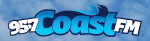 CFPW-FM - Image: CFPW 95.7Coast FM logo
