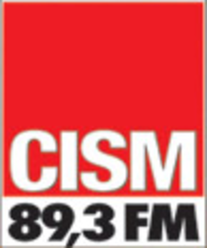 CISM-FM - Image: CISM FM logo