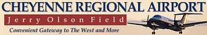 Cheyenne Regional Airport - Image: CYS logo