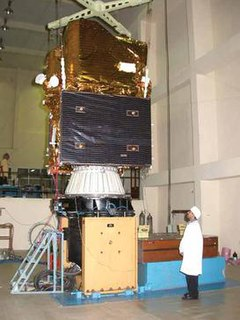 Cartosat-1 stereoscopic Earth observation satellite