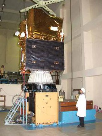 Cartosat-1 - Image: Cartosat 1Assembly