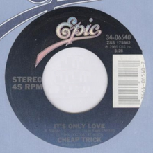 Cheap Trick It's Only Love Single 1986.png