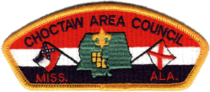 Scouting in Mississippi - Image: Choctaw Area Council CSP