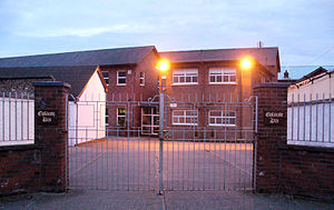 Coláiste Rís - Main School Entrance