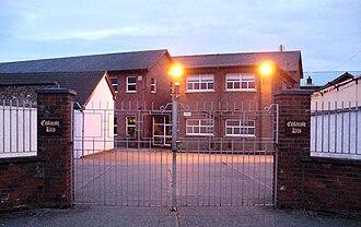 Coláiste Rís - Main School Entrance