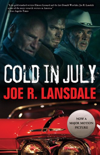 Cold in July (novel) - Cover of movie tie-in reissue