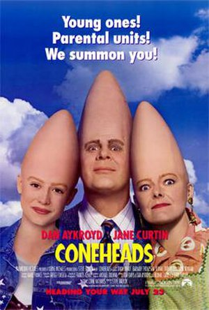 Coneheads (film) - Theatrical release poster