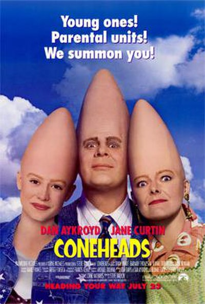 Picture of a movie: Coneheads