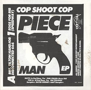 PieceMan EP - Image: Cop Shoot Cop Piece Man
