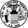 Official seal of Cortland County