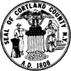 Cortland County, New York - Image: Cortland County NYS Seal