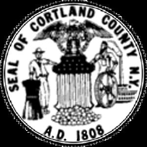 Cortland County, New York - Image: Cortland County NYS Seal