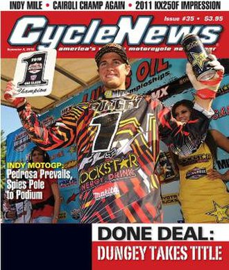 Cycle News - Image: Cycle News final cover