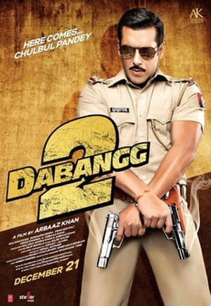 Dabangg 2 - Theatrical release poster
