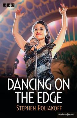 Dancing On The Edge screenplay cover