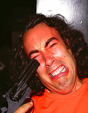 Dave Buchwald - Dave Buchwald, on the set of Urchin, July 2005.