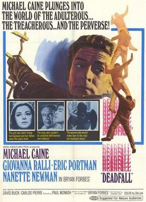 Deadfall (1968 film) - Image: Deadfall (1968 film)