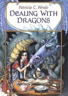 <i>Dealing with Dragons</i> 1990 book by Patricia Wrede