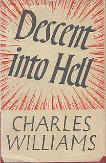 <i>Descent into Hell</i> (novel) book by Charles Williams