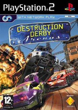 Destruction Derby Arenas - European cover art