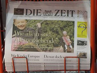 Holtzbrinck Publishing Group - German newspaper Die Zeit in newsstand